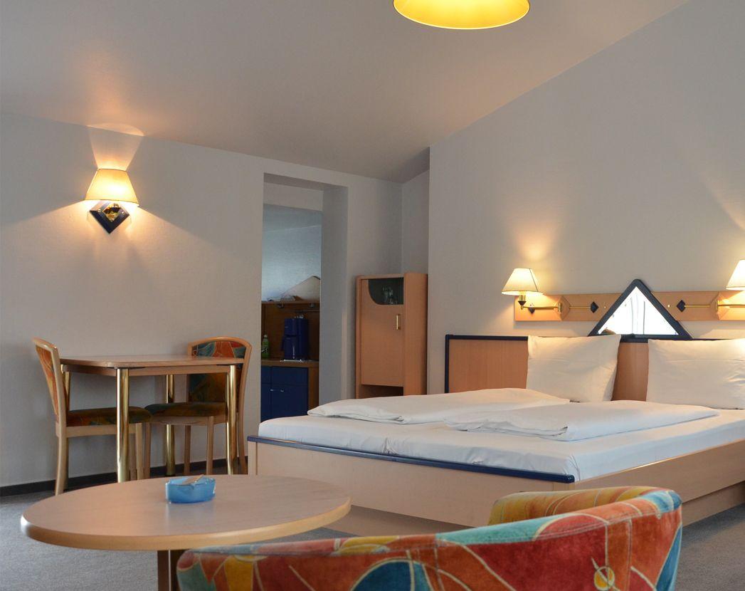 Übernachten im Taunus in Einzelzimmern und Doppelzimmern